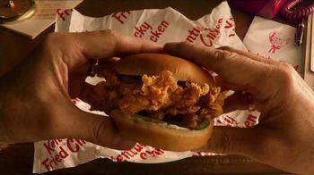 KFC Crispy Colonel Sandwich TV Spot, 'Sandwich Language' - Thumbnail 2