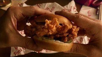 KFC Crispy Colonel Sandwich TV Spot, 'Sandwich Language' - Thumbnail 3