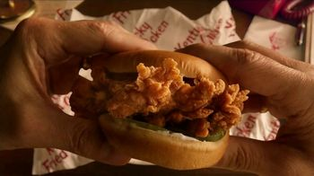KFC Crispy Colonel Sandwich TV Spot, 'Sandwich Language' - Thumbnail 7