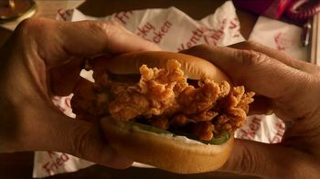 KFC Crispy Colonel Sandwich TV Spot, 'Sandwich Language' - Thumbnail 8