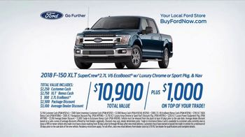 2018 Ford F-150 XLT SuperCrew TV Spot, 'Best Seats in the House' [T2] - Thumbnail 7