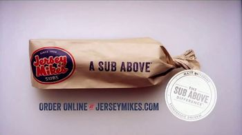 Jersey Mike's TV Spot, 'The Sub Above Difference: Substantial' - Thumbnail 10