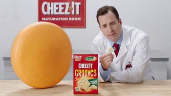 Cheez-It Grooves Sharp White Cheddar TV Spot, \'Deep Valleys of Flavor\'