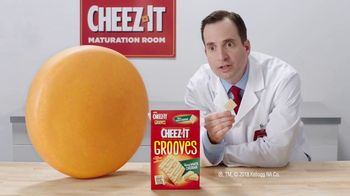 Cheez-It Grooves Sharp White Cheddar TV Spot, 'Deep Valleys of Flavor' - Thumbnail 8