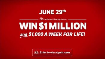 Publishers Clearing House TV Spot, 'June 29: Win $1 Million Immediately' - Thumbnail 10