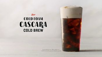 Starbucks Cold Foam Cascara Cold Brew TV Spot, 'Smooth' - Thumbnail 8