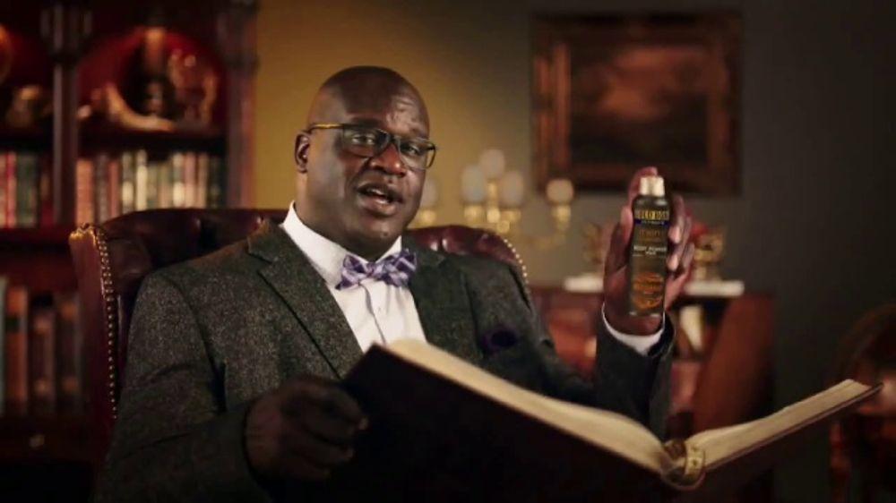 Gold Bond Men's Essentials Body Powder Spray TV Commercial, 'Shaq Wisdom' -  Video