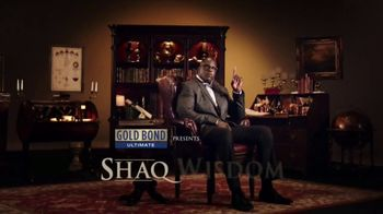 Gold Bond Men's Essentials Body Powder Spray TV Spot, 'Shaq Wisdom' - Thumbnail 2