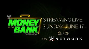 WWE Network TV Spot, '2018 Money in the Bank' - Thumbnail 9
