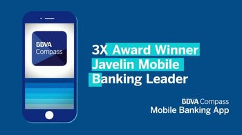 BBVA Compass Mobile Banking App TV Spot, 'Anytime, Anywhere' - Thumbnail 4