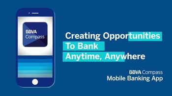 BBVA Compass Mobile Banking App TV Spot, 'Anytime, Anywhere' - Thumbnail 6