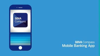 BBVA Compass Mobile Banking App TV Spot, 'Anytime, Anywhere'