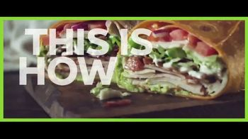 Subway Signature Wraps TV Spot, 'Blue Steel' Song by Big Mo - Thumbnail 7