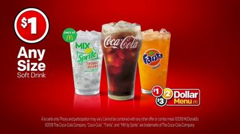 McDonald's $1 Any Size Soft Drinks TV Spot, 'Mix by Sprite Tropic Berry' - Thumbnail 7