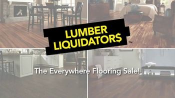 Lumber Liquidators Everywhere Flooring Sale TV Spot, 'Wide Width Oak' - Thumbnail 1
