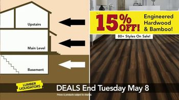Lumber Liquidators Everywhere Flooring Sale TV Spot, 'Wide Width Oak' - Thumbnail 3