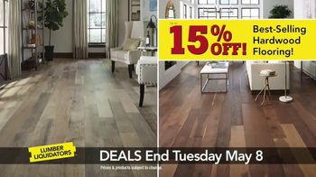 Lumber Liquidators Everywhere Flooring Sale TV Spot, 'Wide Width Oak' - Thumbnail 4