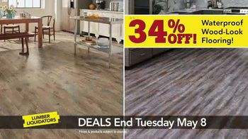 Lumber Liquidators Everywhere Flooring Sale TV Spot, 'Wide Width Oak' - Thumbnail 5