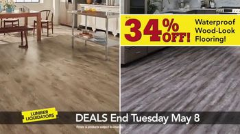 Lumber Liquidators Everywhere Flooring Sale TV Spot, 'Wide Width Oak' - Thumbnail 6
