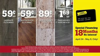 Lumber Liquidators Everywhere Flooring Sale TV Spot, 'Wide Width Oak' - Thumbnail 7