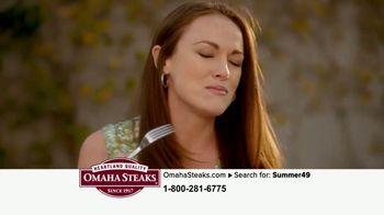 Omaha Steaks Summer Grilling Assortment TV Spot, 'Gourmet Upgrade' - Thumbnail 9