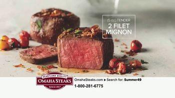 Omaha Steaks Summer Grilling Assortment TV Spot, 'Gourmet Upgrade' - Thumbnail 5