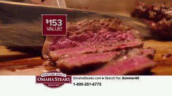 Omaha Steaks Summer Grilling Assortment TV Spot, 'Gourmet Upgrade' - Thumbnail 8