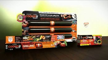 Cookina Barbecue Grilling Sheet TV Spot, 'Barbecue Season' - Thumbnail 9