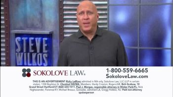 Sokolove Law TV Spot, 'Mesothelioma Victims' Featuring Steve Wilkos