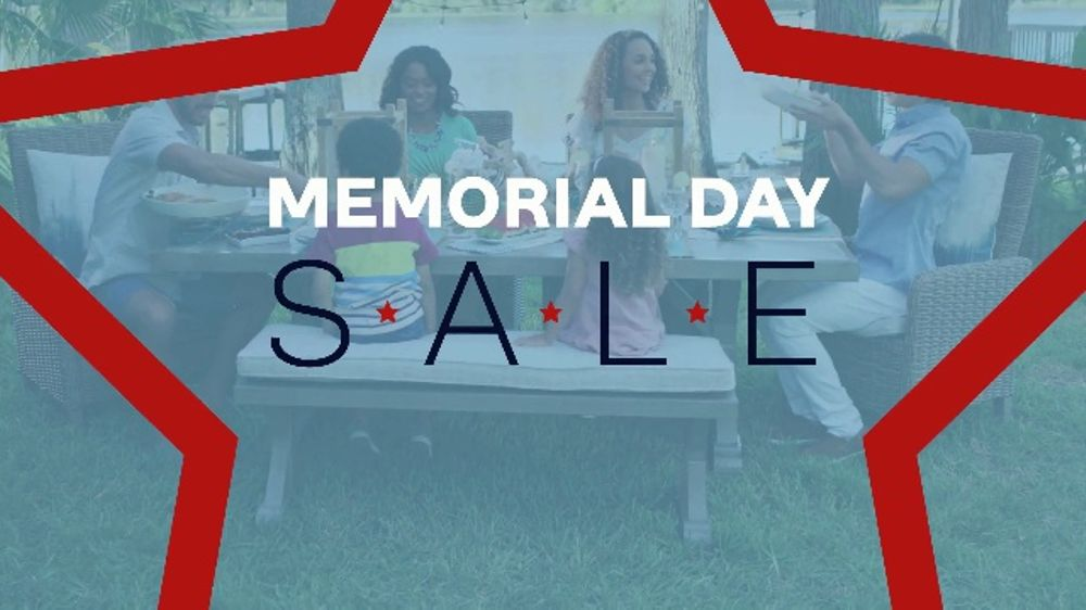ashley homestore memorial day sale tv commercial starts now queen rh ispot tv