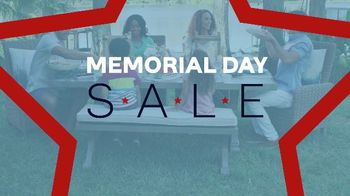Ashley HomeStore Memorial Day Sale TV Spot, 'Starts Now: Queen Panel Bed'