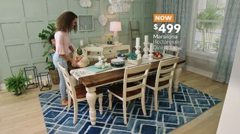 Ashley HomeStore Memorial Day Sale TV Spot, 'Shop and Save: Dining Table' - Thumbnail 7