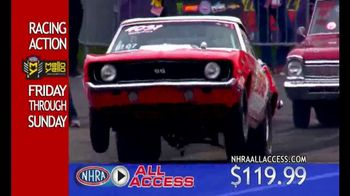 NHRA All Access App TV Spot, 'Racing Content'