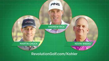 Revolution Golf TV Spot, 'Golf School Experience: Whistling Straits' - Thumbnail 5