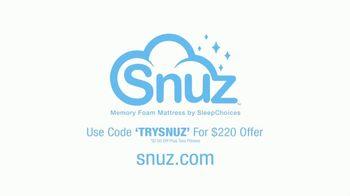 SNUZ Memory Foam Mattress TV Spot, 'Sleep Trial' - Thumbnail 9