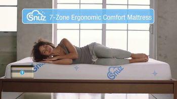 SNUZ Memory Foam Mattress TV Spot, 'Sleep Trial' - Thumbnail 4