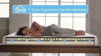 SNUZ Memory Foam Mattress TV Spot, 'Sleep Trial' - Thumbnail 5
