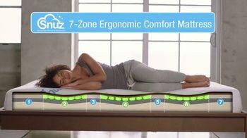 SNUZ Memory Foam Mattress TV Spot, 'Sleep Trial' - Thumbnail 6
