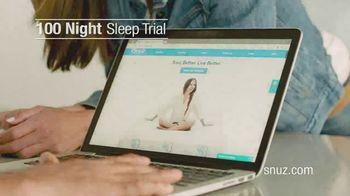 SNUZ Memory Foam Mattress TV Spot, 'Sleep Trial' - Thumbnail 8