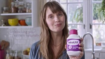 MiraLAX TV Spot, 'Works With Your Body: Hydrates' - Thumbnail 5