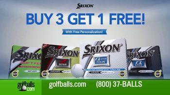 Golfballs.com TV Spot, 'Srixon Balls'