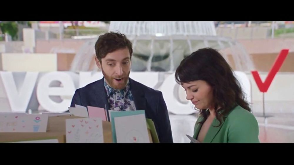 Verizon TV Commercial, 'Mother's Day: Card Search' Ft. Thomas Middleditch