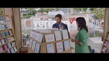 Verizon TV Spot, '2018 Mother's Day: Card Search' Ft. Thomas Middleditch - Thumbnail 4