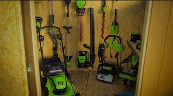 GreenWorks Pro 60-Volt String Trimmer TV Spot, 'Possible' - Thumbnail 1