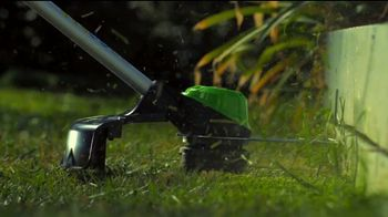 GreenWorks Pro 60-Volt String Trimmer TV Spot, 'Possible'