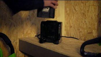 GreenWorks Pro 60-Volt String Trimmer TV Spot, 'Possible' - Thumbnail 4
