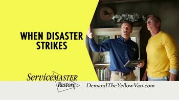 ServiceMaster Restore TV Spot, 'Water or Fire Damage'