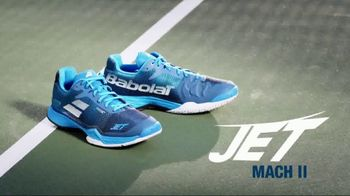 Babolat Jet Mach II TV Spot, 'Big Announcement' Featuring Fabio Fognini - Thumbnail 7