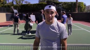 Babolat Jet Mach II TV Spot, 'Big Announcement' Featuring Fabio Fognini - Thumbnail 8
