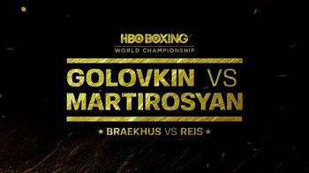 HBO TV Spot, 'HBO Boxing World Championship: Golovkin vs. Martirosyan' - Thumbnail 8